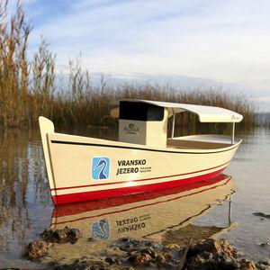 barca per trasporto passeggeri elettrosolare