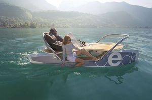 barca a pedali 4 posti