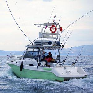 barca da pesca e diporto entrobordo