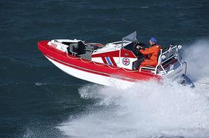 barca professionale barca di salvataggio / entrobordo a idrogetto / in alluminio