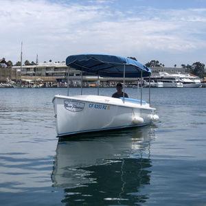 barca open elettrica