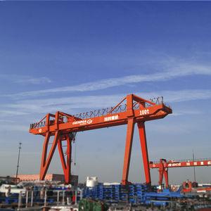 gru per cantiere navale / a portale / doppia