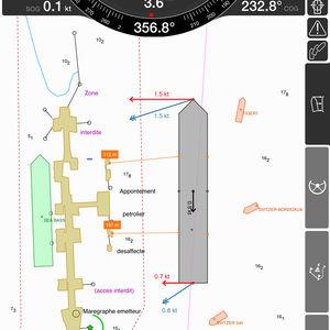 software di navigazione con posizionamento e acquisizione dati