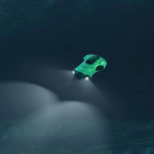 drone sottomarino per fotografia / cablato