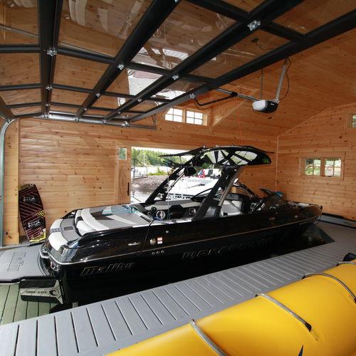 ascensore per barche / da installare su pontile / idraulico
