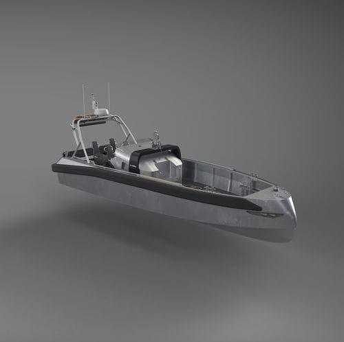 barca professionale nave di ricerca e salvataggio / entrobordo a idrogetto / diesel / autoraddrizzante