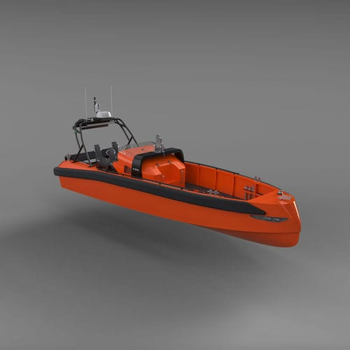 barca professionale barca di salvataggio / entrobordo a idrogetto / diesel / autoraddrizzante