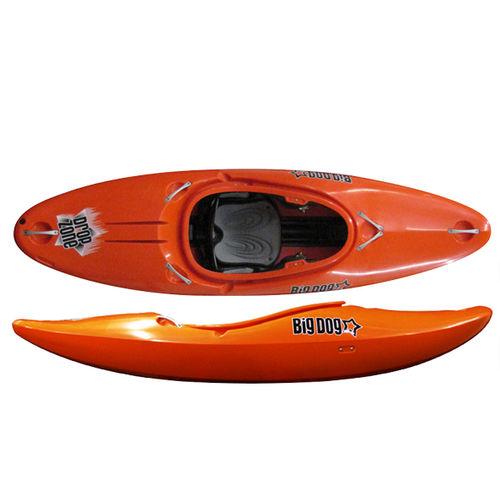 kayak a ponte / rigido / creek / 1 posto
