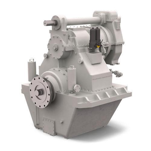 riduttore per nave / per motore / con frizione idraulica