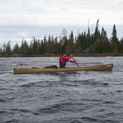 canoa da escursione / 1 posto / in carbonio / in Kevlar®