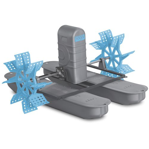 aeratore d'acqua per acquacoltura / a palette