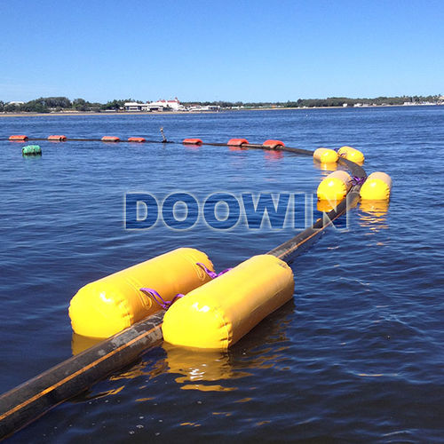 galleggiante per cavo / per condotto / cilindrico / gonfiabile