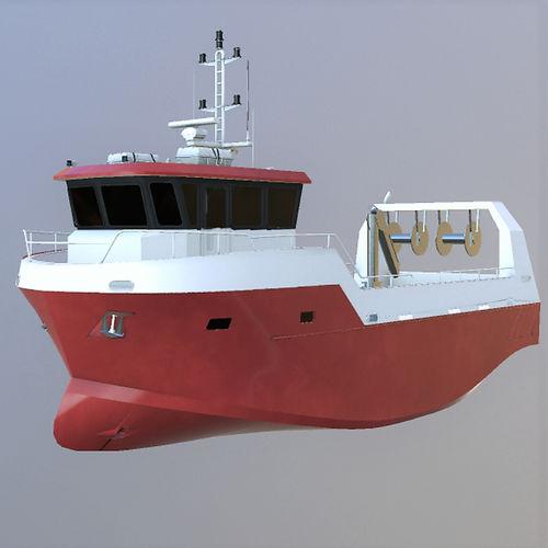 barca professionale barca da pesca polivalente / entrobordo / in alluminio