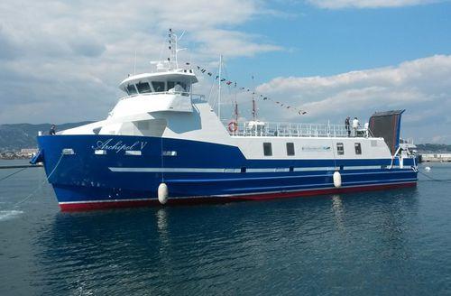 barca professionale barca di trasporto logistico