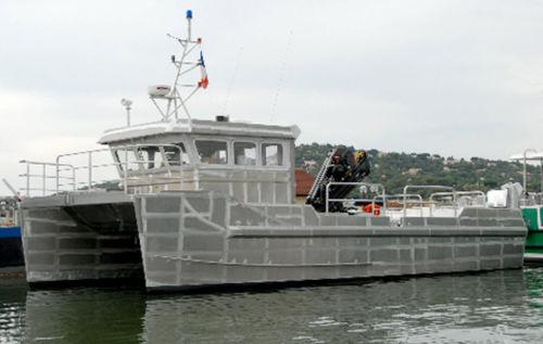 barca da lavoro - Alumarine Shipyard