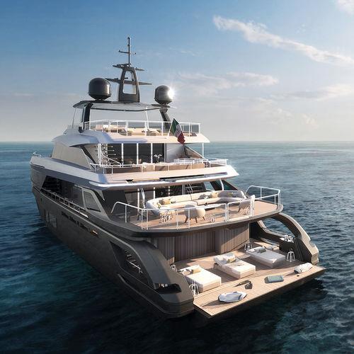 super-yacht da crociera / in carbonio / GRP / con 7 cabine