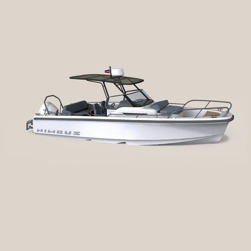 barca open fuoribordo / entrobordo / con console centrale / open
