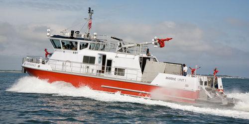 barca professionale motobarcapompa