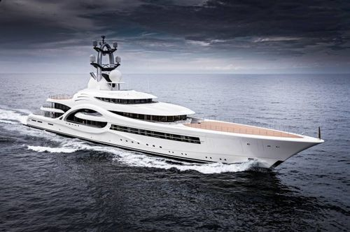 mega-yacht tradizionale - Feadship