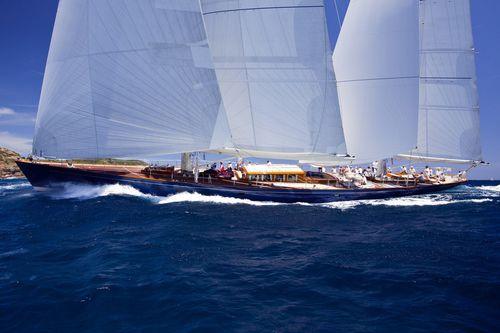 sailing-superyacht di lusso tradizionale