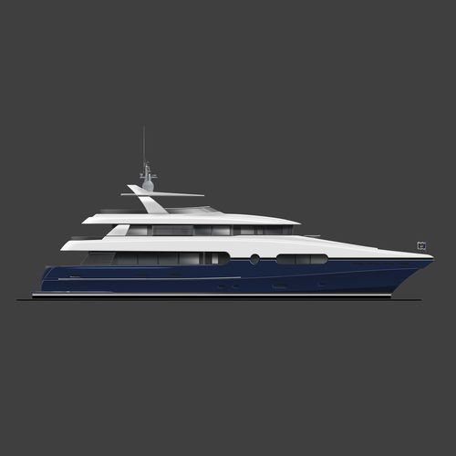 super-yacht catamarano