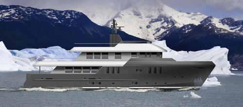 super-yacht per spedizione / explorer / con cabina di pilotaggio