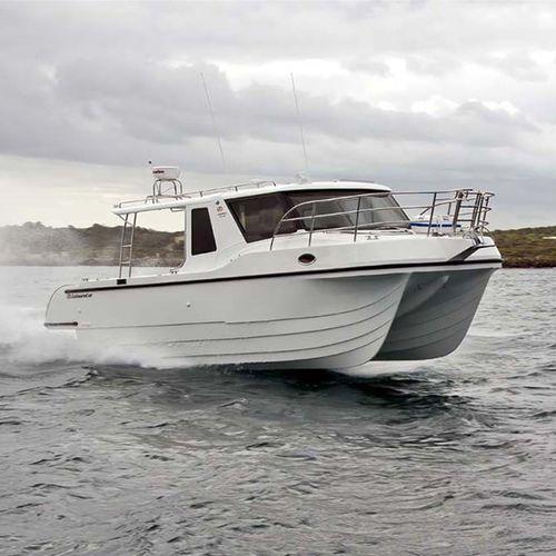 cabinato catamarano / entrobordo / diesel / bimotore