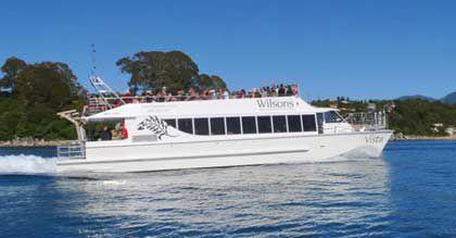 barca per trasporto passeggeri / catamarano / entrobordo