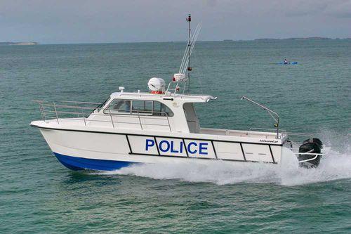 patrol boat / catamarano / fuoribordo / diesel