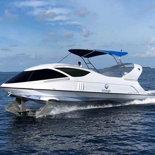 barca professionale battello turistico / barca da turismo / barca a visione subacquea / entrobordo