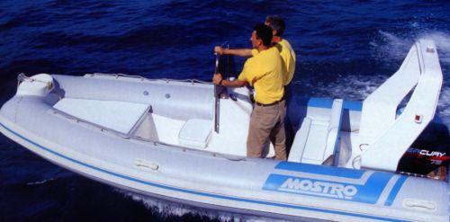 gommone fuoribordo / RIB / con console laterale / offshore