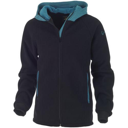giacca da navigazione / in pile / con capuccio / a maniche lunghe
