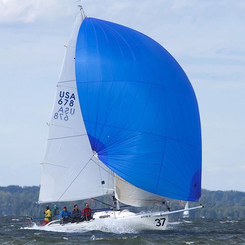 spinnaker asimmetrico / per imbarcazione a chiglia da regata monotipo / J80