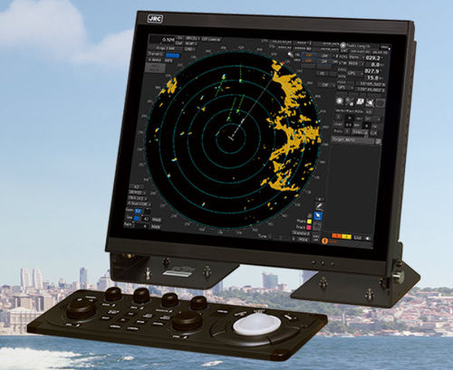 radar per nave / ARPA / con AIS / a colori