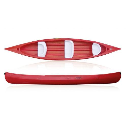canoa da turismo / da escursione / 3 posti