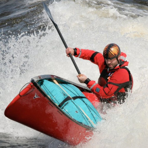 canoa da torrente