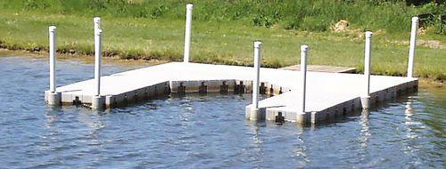 pontile modulare / galleggiante / di ormeggio / per marina