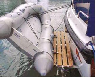 gruetta per barca
