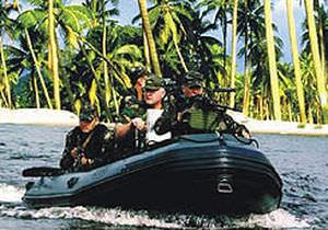barca professionale barca militare / fuoribordo / gommone semirigido