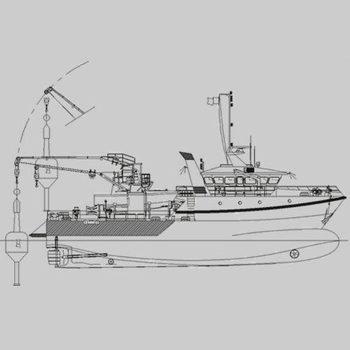 nave polivalente buoy tender / costiera