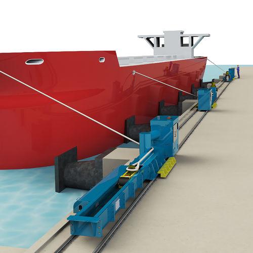 sistema d'ormeggio automatico per nave