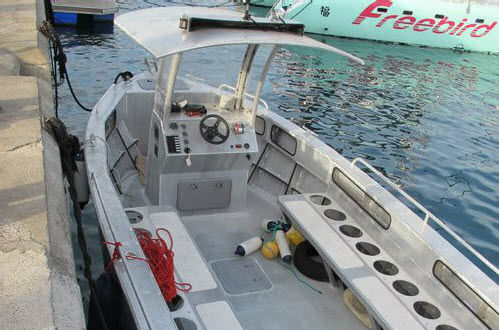 barca professionale barca di supporto per immersioni