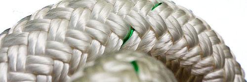 corda da ormeggio / a doppia treccia / per nave / anima in poliammide