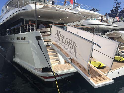 passerella per yacht