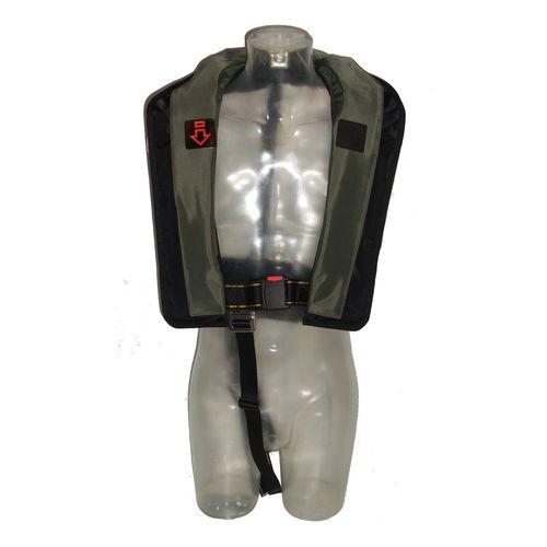 giubbotto di salvataggio autogonfiabile / 150 N / per la pesca / ad uso professionale