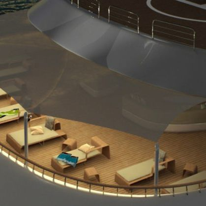 cagnaro parasole per yacht
