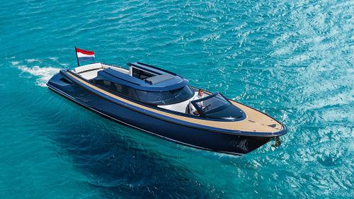 runabout entrobordo / bimotore / con dual console / tender per super-yacht