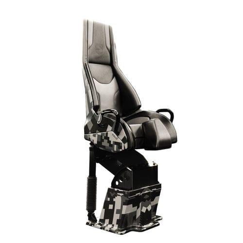 sedile pilota / per barca / regolabile / per sospensioni