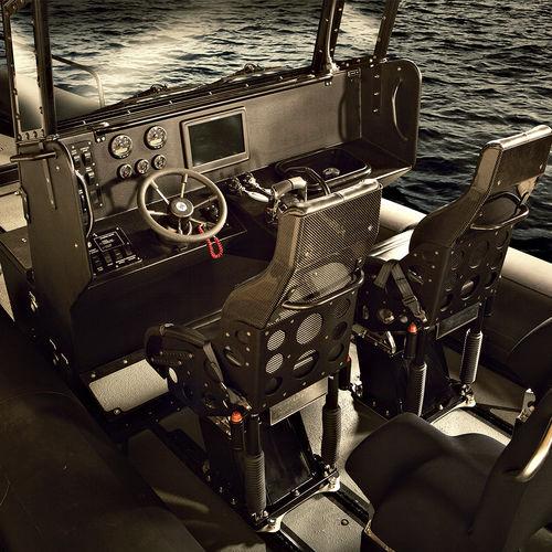 sedile pilota / avvolgente / operatore / per nave