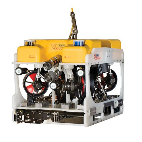 ROV subacqueo di intervento - Saab Seaeye